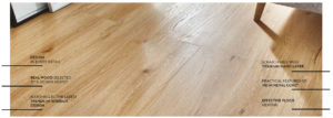 Features of vinyl click planks